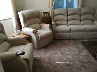 Westbury - 3 Piece Suite - Lift and Tilt Chair - Fixed Chair - Sofa - Footstool