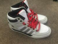 Adidas high tops size 8