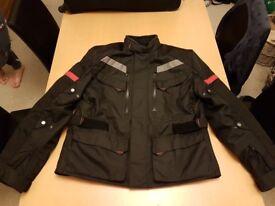 XL Motorcycle Textile Jacket