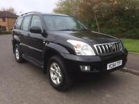 Toyota Land Cruiser 3.0 D-4D LC5 5dr, LEATHER , SAT NAV , 8 seats 54 REG