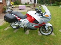 BMW K1200RS Sports Tourer With Luggage 130BHP (see video)