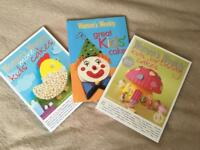 3 Children Birthday Cakes books