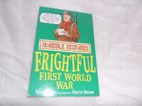 Horrible Histories book (Frighftul First World War)