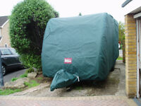 Pro Tec Caravan Cover for Sterling Challenger 480 SR .
