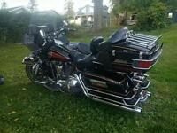 1993 Harley Ultra Tour Glide with side car