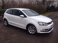 2015 VOLKSWAGEN POLO WHITE 1.2 CAT C FULL SERVICE HISTORY 20,000 MILES EXCELLENT CONDITION
