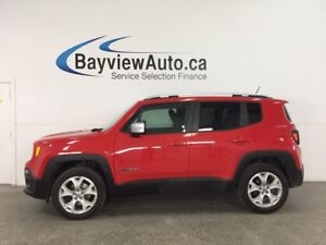 2017 Jeep Renegade Limited - REM START! SUNROOF! DUAL CLIMATE...
