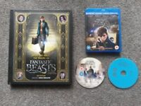 Blu-ray (3D & 2D) Fantastic Beasts + Making of book