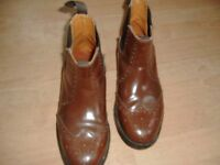 mens size 9 leather chelsea brogues
