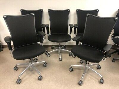 Allsteel 19 Office Chair Polished Aluminum