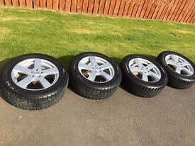 17''alloys with Nexen tyres in very good condition
