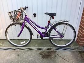 Bike 23inch wheels like new