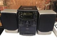 Goodmans cd player, radio. Recorder
