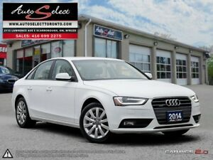 2014 Audi A4 Quattro AWD ONLY 99K! **CLEAN CARPROOF** LED LIG...
