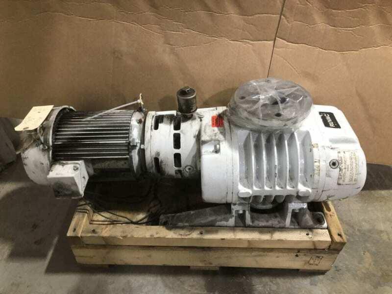 Leybold-Heraeus RUVAC WA501US Roots Vacuum Pump / Blower 505m3/h 80mbar