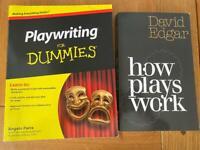 2 x Playwriting Books