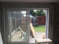 Wite sliding patio door for sale