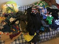 Huge load of boys clothing sizes 5t to 8t