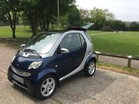 Smart Fortwo, Blue & Silver (MOT MAY 2019)