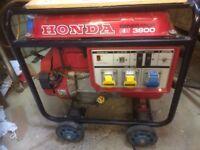 Honda Generator EB 3800