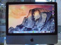 "Apple Desktop 20"" 2008 El Capitan 4gb 320 GB Core 2 Duo"