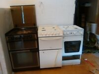 lot of four gas cookers