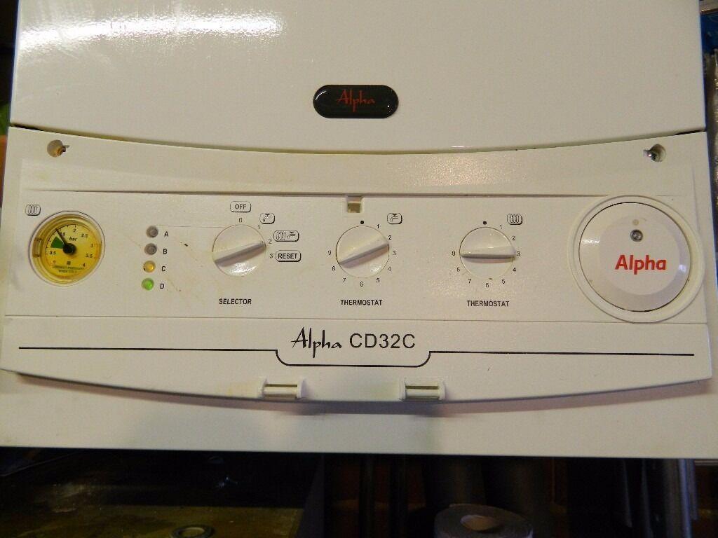 combi boiler alpha cd 32 c condensing combination boiler. Black Bedroom Furniture Sets. Home Design Ideas