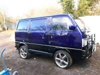 "1990 Suzuki supercarry custom van 17"" alloys custom paint"
