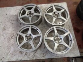 Toyota MR2 alloys
