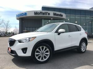 2014 Mazda CX-5 GT AWD GT AWD LEATHER, SUNROOF, HEATED SEATS, BO