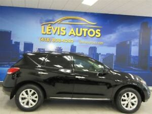 2012 Nissan Murano SL AWD CUIR TOIT PANORAMIQUE 120200 KM !