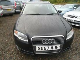 AUDI A4 AVANT A4 AVANT SE TDI 140 SATELITE NAVIGATION MODEL CRUISE, MOT AT POINT OF SAL (black) 2007