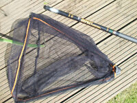 Middy 1.85m telescoping fishing landing net 20 inches wide - new