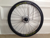 NEW Disc Brake Wheel + 2 tires for hybrid bike