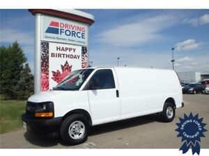 2017 Chevrolet Express 2500 Extended Cargo Van - 18,159 KMs