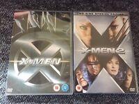 X-Men/X2 DVDs