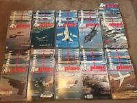 Job lot of Airplane magazine issues 1-100 in excellent condition from the early 1990's
