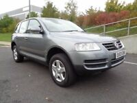2003 VOLKSWAGEN TOUAREG AUTOMATIC PETROL, VERY GOOD CONDITION, 2 KEYS, 3 MONTH WARRANTY