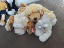 Ty toys and cuddly toy bundle