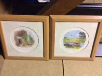 Two Winnie the Pooh pictures