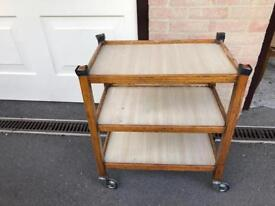 Caster wheel trolley