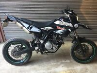 YAMAHA WR125 X SUPERMOTO 2012 12 PLATE 25K VERY GOOD CONDITION ARROW NEW GRAPHICS KIT
