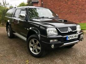 MITSUBISHI L200 2.5 113 TD LWB 4 DOOR WARRIOR DOUBLE CAB - CREW CAB PICKUP WITH FULL SERVICE HISTORY