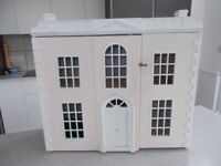 Stunning solid wood dolls house sylvanian compatable