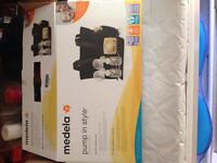 medela double breast pump with full accessory kit