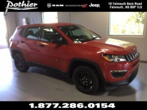 2017 Jeep Compass Sport   CLOTH   HEATED MIRRORS   UCONNECT  