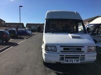 Iveco daily R reg 2.8 turbo diesel self converted 2birth camper-van