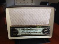 Vintage Ekco U319 Bakelite valve radio Shop prop Barbers cafe