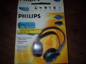 PHILIPS CORDLESS HEADPHONE