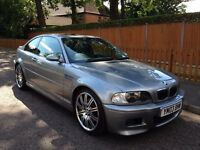 2003 BMW M3 3.2 Sequential 2dr, ONE LADY OWNER, ONLY 63000 MILES, IMMACULATE